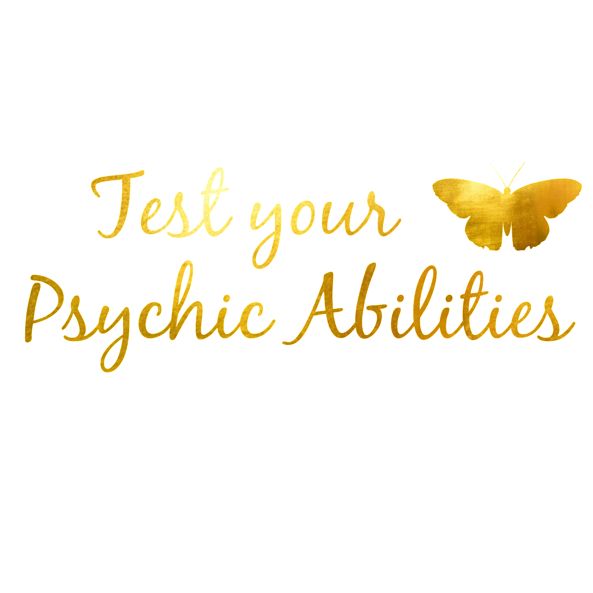 Psychic Abilities Test